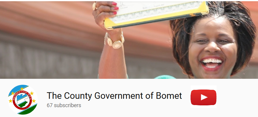 The County Government of Bomet official Youtube Channel